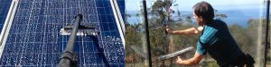 Solar Panel Cleaning and Window Cleaning