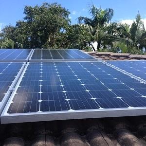 Clean solar panels geelong