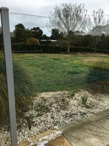 After cleaning glass pool fence Torquay